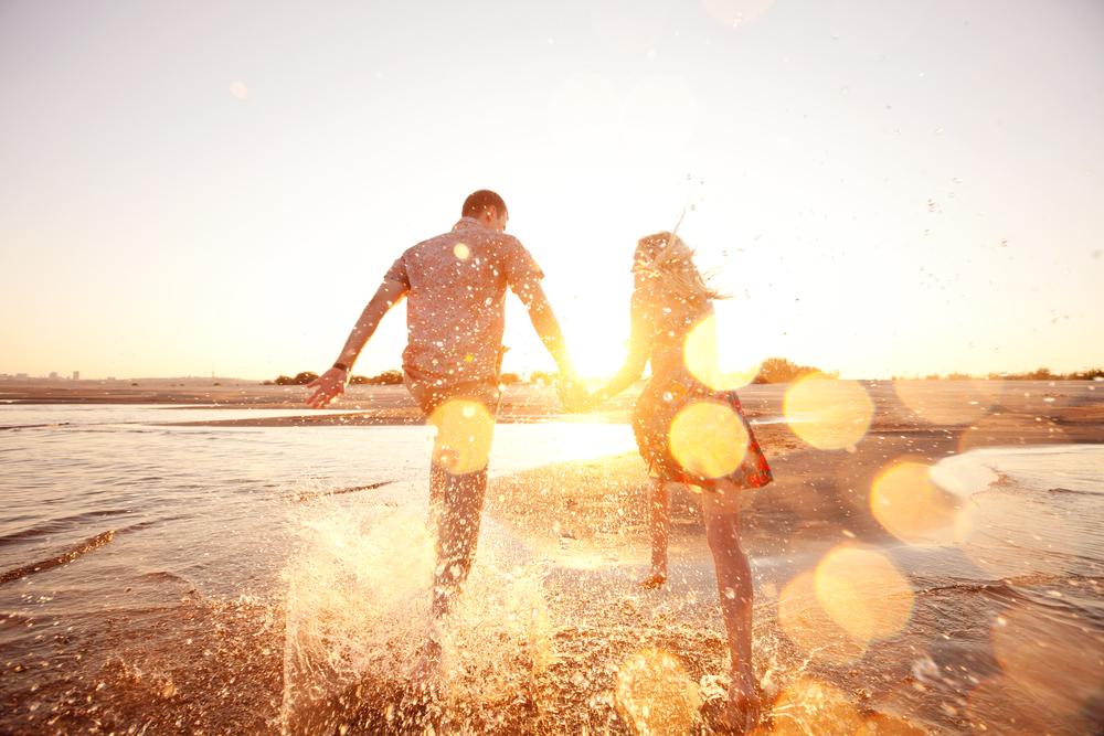 Счастье в картинках море